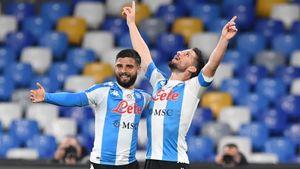 «Наполи» разгромил «Лацио», забив 5 мячей в ворота соперника