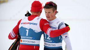 Бородавко: «Команда должна была привезти Большунову 30 секунд отрыва, чтобы он смог выиграть у Клэбо»