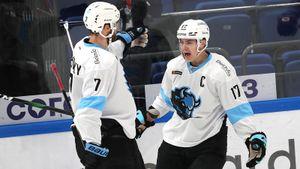 Открытие года в КХЛ — 22-летний белорус Шарангович. Он идет в топ-3 снайперов лиги, но скоро может уехать в США