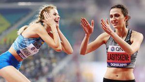 Великой русской прыгунье Ласицкене может помешать выиграть золото Олимпиады украинка. Кто такая Ярослава Магучих