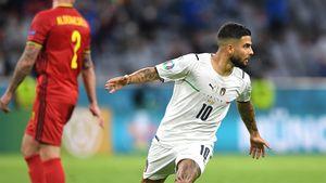 Инсинье сотворил супергол, Спинаццола— суперсэйв. Грандиозный матч Италии и Бельгии вывел в 1/2 команду Манчини