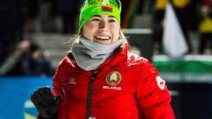 Белоруска Алимбекова выиграла 2-ю подряд медаль на Кубке мира. Она становится звездой биатлона