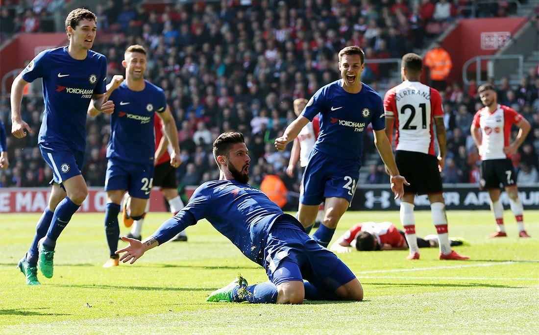 «Челси» обыграл «Саутгемптон», отыгравшись с0:2