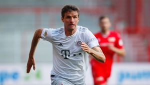 Мюллер установил рекорд по числу ассистов за сезон в Бундеслиге. А ведь недавно «Бавария» собиралась его продать