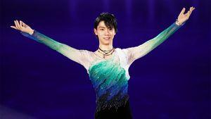 В сети появилось видео выступления двукратного олимпийского чемпиона Юдзуру Ханю на чемпионате Японии