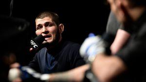 Хабиб: «Если UFC сейчас назовет мне место, иясмогу вылететь изРоссии, тобуду драться сФергюсоном. 100%»