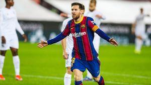 «Большая честь». Реакция Месси на повторение рекорда Хави по количеству матчей за «Барселону»