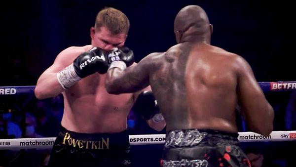 Британец Уайт отомстил русскому боксеру за крутой нокаут в 2020-м. Поветкин хотел драться дальше, но его не пустили