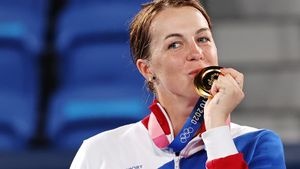 Павлюченкова— о золоте Олимпиады: «Это просто детская мечта, которая сбылась»