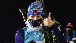 Белоруска Алимбекова выиграла первую гонку в карьере на Кубке мира. А лучшая из русских только 18-я