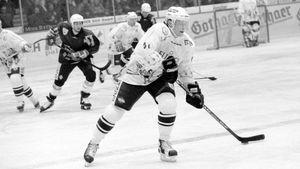 26 лет назад хоккеист Буре сыграл за немецкий клуб «Каннибалы». Подписал контракт на один матч и оформил хет-трик