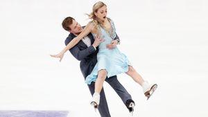 Россия может остаться без медали в танцах в финале ГП. Французы выигрывают даже с грубой ошибкой