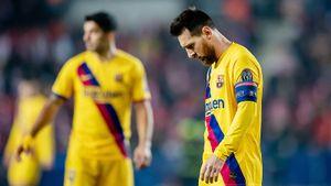 Худший матч «Барселоны» всезоне. 1:3 от«Леванте», иэто было без шансов