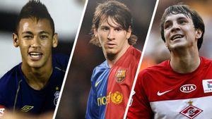 Угадай, сколько стоили эти футболисты десять лет назад. Тест Sport24