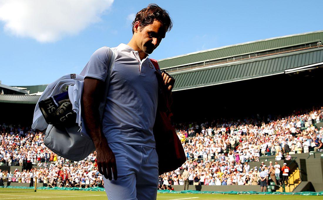 Теннисист Андерсон впервый раз вкарьере обыграл Федерера ивышел вполуфинал Уимблдона