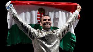 Венгр Силадьи стал трехкратным олимпийским чемпионом по фехтованию