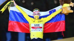 Словенец Погачар — самый молодой победитель «Тур де Франс» за 116 лет. Он родом из деревни, где живет 1000 человек