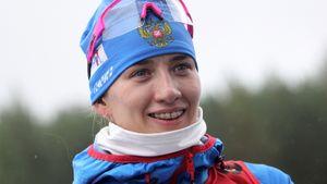 Огонь от биатлонистки Мироновой в Германии: прорвалась с 15-го места на 4-е. Лучший результат России в сезоне