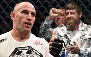 Удушающий прием Олейника наглазах Кадырова икукла Макгрегор. Главные фото турнира UFC вМоскве