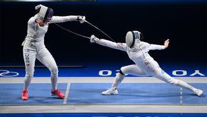 Российская шпажистка Муртазаева вышла в полуфинал Олимпиады
