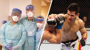 «Пациенты умирали передо мной, хватая ртом воздух». Бывший боец UFC борется скоронавирусом вНью-Йорке