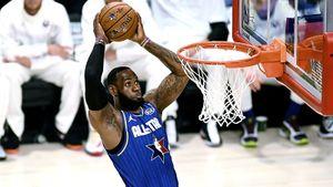 Майку Леброна сМатча звезд НБА— 2020 продали за$630 тысяч