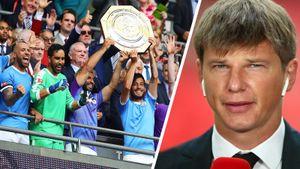 Зинченко с трофеем, Аршавин — комментатор. Главные кадры Суперкубка Англии