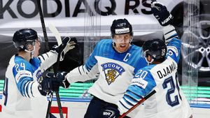 Двухметровый великан вслед за Россией казнил и Канаду. Финская сборная ноунеймов — лучшая в мире!