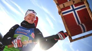 Йоханнес Бе выиграл личное золото в последней гонке ЧМ-2020. Победу он посвятил новорожденному сыну