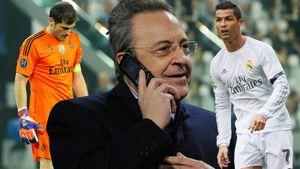 Скандал в «Реале»— президент Перес оскорбил легенд клуба: «Роналду— больной, Касильяс— щенок, Рауль— аферист»