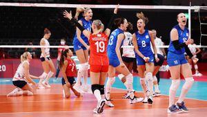 Россия сенсационно разгромила США. Волейболистки показали, что готовы биться за золото