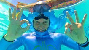 Датский фридайвер проплыл под водой 202 метра, установив новый мировой рекорд