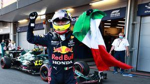 Перес победил на Гран-при Азербайджана, Феттель — 2-й, Мазепин — 14-й, Хэмилтон — 15-й. Ферстаппен сошел