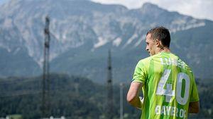 Лунев не пропустил в дебютном матче за «Байер»