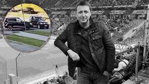 В Риге убили футбольного агента Беззубова. Момент расстрела попал на видео