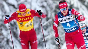 Русские лыжники борются за победу на «Тур де Ски» и у мужчин, и у женщин. 6-й этап — масс-старт. Live