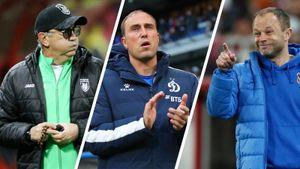 «Динамо» рассматривает 3 кандидатуры на пост главного тренера: Бердыев, Бувач и Парфенов