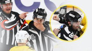 Русского судью ударил кулаком в лицо канадский хоккеист Лалонд. Эффектная драка «Динамо» — «Северсталь»: фото