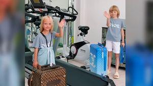 Сын Плющенко снялся в видео с подругой. Рудковская назвала ее одной из самых красивых девочек-блондинок в мире