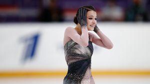 Щербакова прыгнула четверной флип и выиграла стартовый этап Кубка России. Ей не помешали ошибки на других прыжках