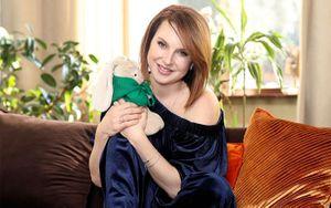 Слуцкая: «Я была беременной два с лишним года! Это самое прекрасное время в моей жизни»