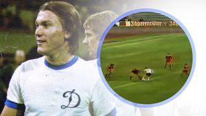 Знаменитому голу советского нападающего Блохина — 45 лет. Он прошел полполя и обыграл 5 игроков «Баварии»: видео