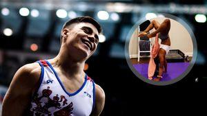 «Трюк очень легкий». Гимнаст Нагорный оценил видео снявшей с себя штаны олимпийской чемпионки из США