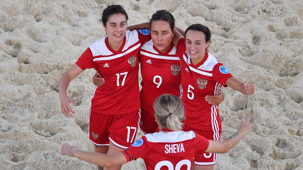Женская сборная России по пляжному футболу обыграла Бразилию в заключительном матче Межконтинентального кубка