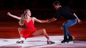 Топовые русские фигуристы зажгли на шоу в Швейцарии. Они катались под живую музыку