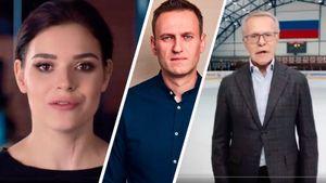 «Позор страны, люди без совести». Навальный осудил ролик о поправках в конституцию с участием Фетисова и Сотниковой