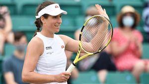 Конта победила Ван Эйтванк и вышла в полуфинал турнира в Ноттингеме