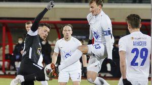 «Торпедо» разгромило «Чертаново» в первом матче под руководством Бородюка