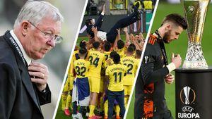 Эмери качали на руках, Де Хеа успокаивали, Руни и Фергюсон болели за «МЮ». Главные кадры финала Лиги Европы