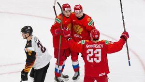 Россия вымучила победу над Германией и вышла в полуфинал МЧМ. Было почти также нервно, как на Олимпиаде